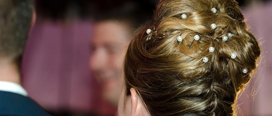 Acconciatura sposa raccolto - Hair Clips