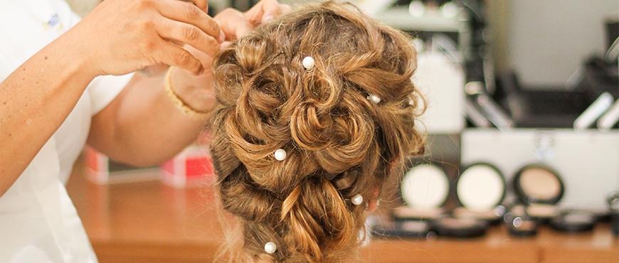 Acconciatura sposa semiraccolto - Hair Clips