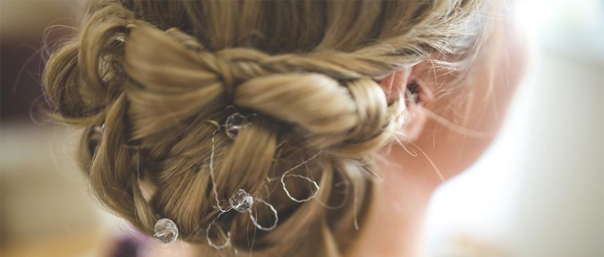 Acconciatura Sposa Treccia - Hair Clips